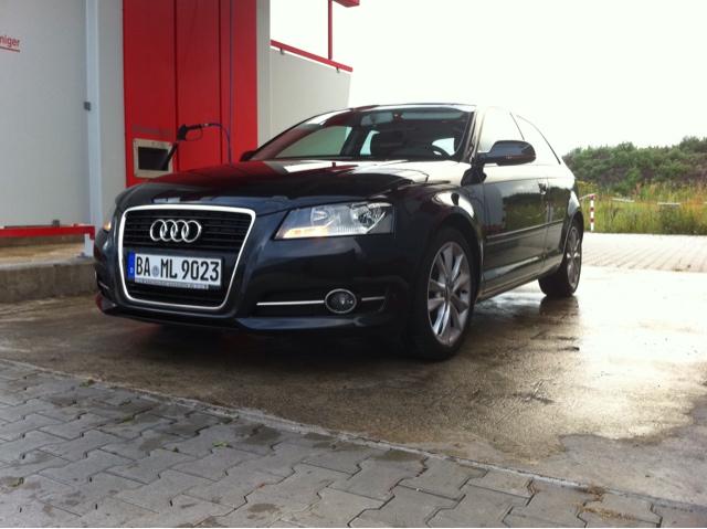 Audi A3 nach Handwäsche