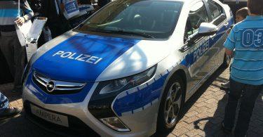 Opel Ampera Polizei Concept