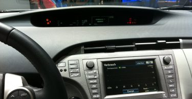 Neuer Toyota Prius Innen