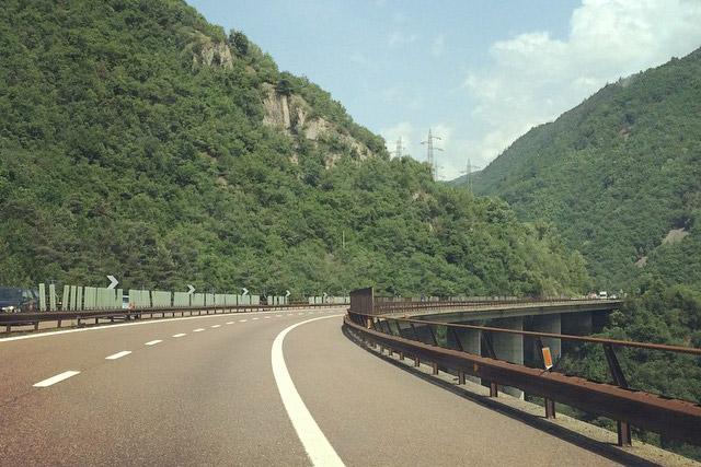Autobahn Oder Alte Brennerstraße Nach Italien Autoirrtum