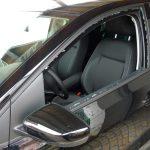 Klassischer Kasko-Schaden: Eine eingeschlagene Seitenscheibe beim VW Polo