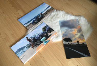 webprint auto fotos leinwand