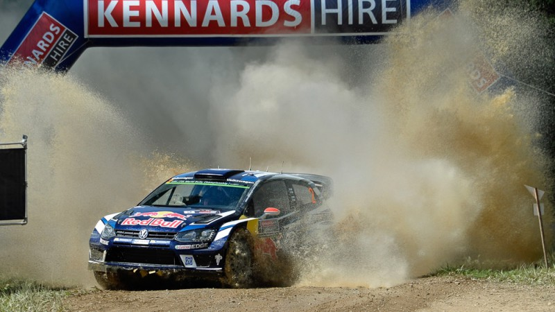 polo r wrc Rally Australia 2016